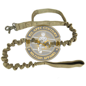 Heavy Duty Military Service Dog Lead Double Pack & FREE SHIPPING