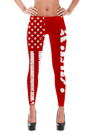 Remember Everyone Deployed - R.E.D Leggings - Mil-Spec Customs