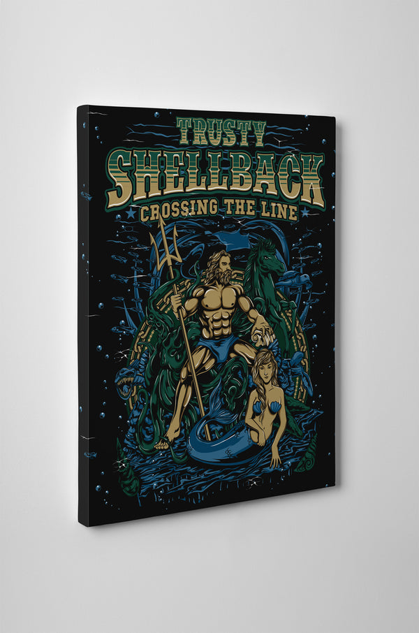 Trusty Shellback - Crossing the Line - Canvas - Mil-Spec Customs
