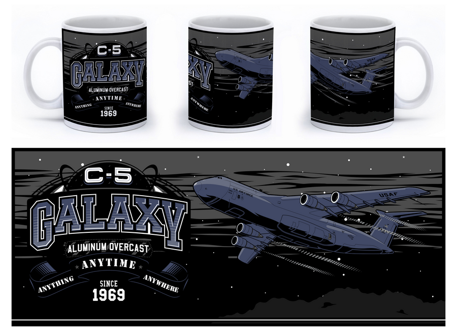 C-5 Galaxy Mug - Mil-Spec Customs