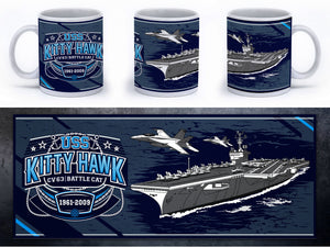 USS Kitty Hawk - CV 63 - Battle Cat Mug - Mil-Spec Customs