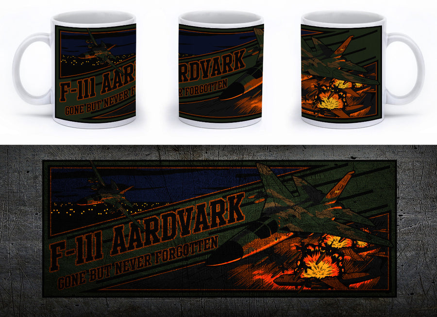 F-111 aardvark (PIG) Mug - Mil-Spec Customs