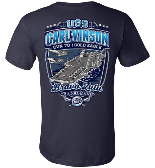 USS CARL VINSON SINCE 1982 - CVN 70 - Mil-Spec Customs