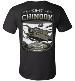 CH-47 CHINOOK - 5 MILLION FLIGHT HOURS - Mil-Spec Customs