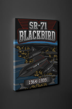 SR-71 Blackbird 1964-1999 Canvas - Mil-Spec Customs