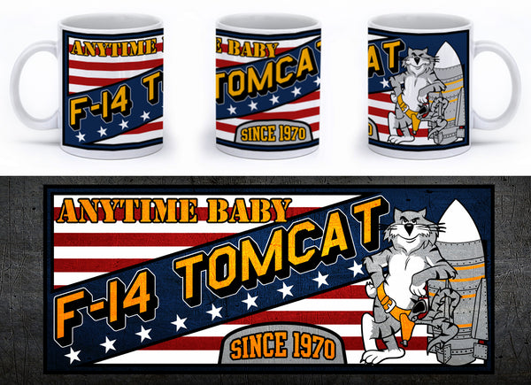 F-14 Anytime Baby! Mug - Mil-Spec Customs