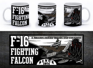 F-16 Fighting Falcon Mug - Mil-Spec Customs