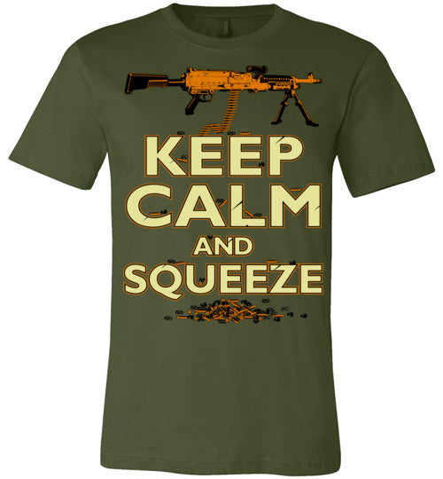 M240 KEEP CALM AND SQUEEZE - Mil-Spec Customs