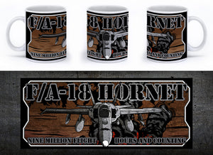 F/A-18 Hornet Mug - Mil-Spec Customs