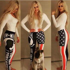 United States of America - POW*MIA Leggings - Mil-Spec Customs