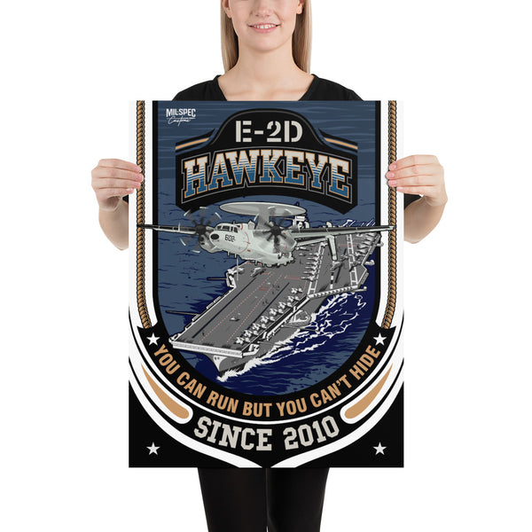 E-2D Advanced Hawkeye Custom Print