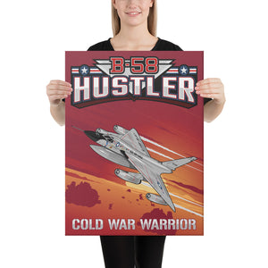 B-58 Hustler Canvas