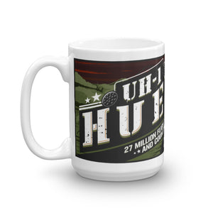 UH-1 Huey Mug - 27 Million Flight Hours and Counting