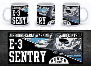 E-3 Sentry Mug - Mil-Spec Customs