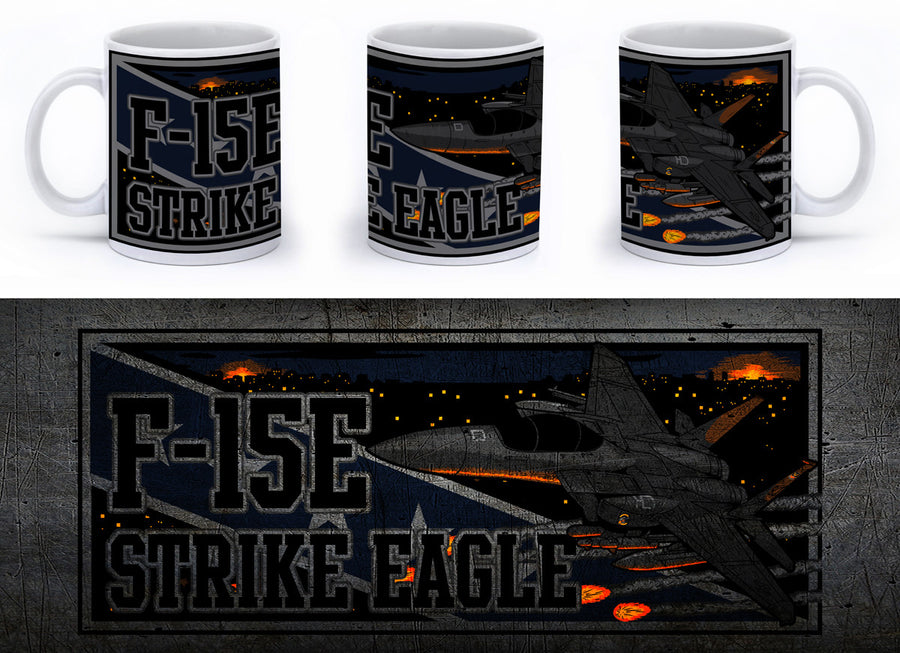 F-15E Strike Eagle Mug - Mil-Spec Customs