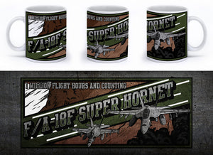 F/A-18 Super Hornet Mug - Mil-Spec Customs