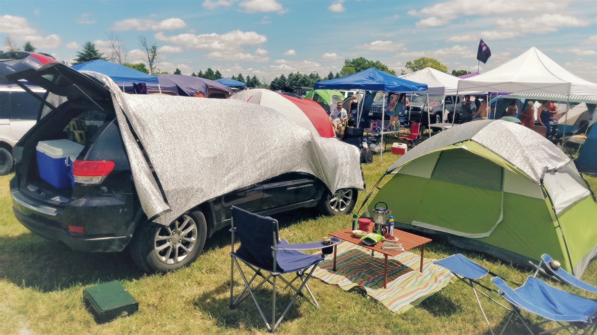 8 Ways to Keep your Tent Cool this Summer & Keep your Tent Cool this Summer | Be Cool Solutions