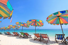 regular beach shade - beach umbrella