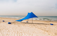 elastic beach shade solution