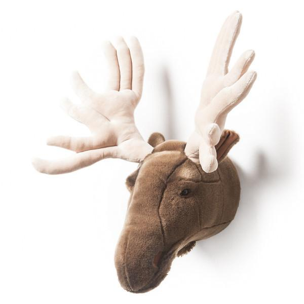 Wild and Soft Plush Wall Head Alfred the Moose