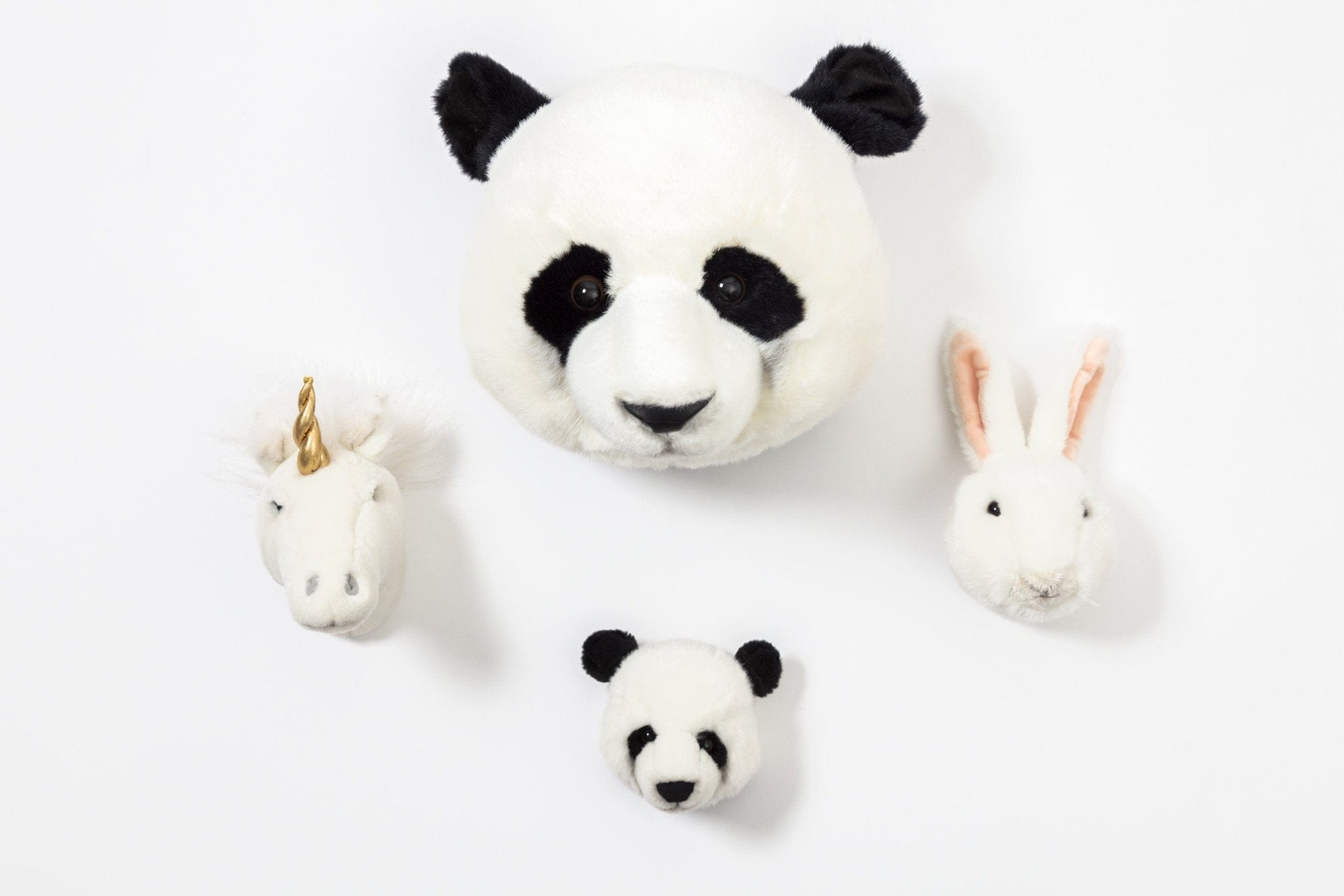 Wild and Soft Lovely Box, Mini Unicorn, Panda & Rabbit
