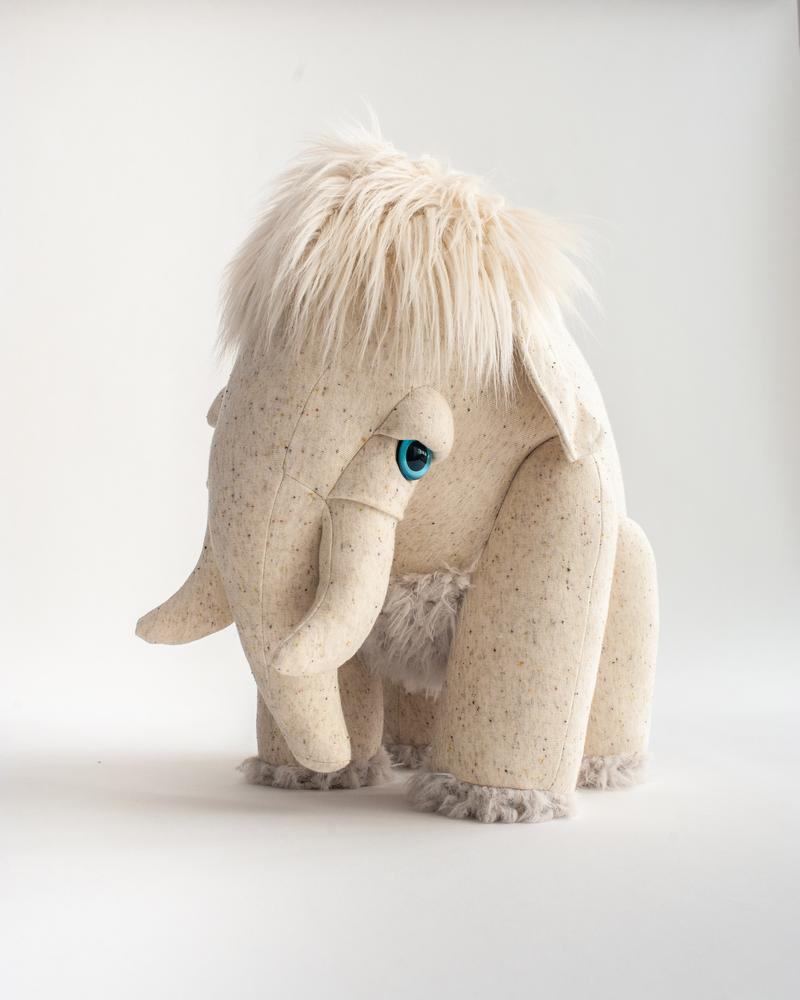 BigStuffed Big Albino Mammoth - Hello Little Birdie