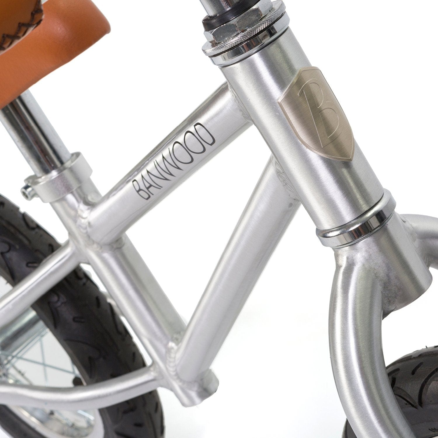 BANWOOD FIRST GO BALANCE BIKE, CHROME - Hello Little Birdie