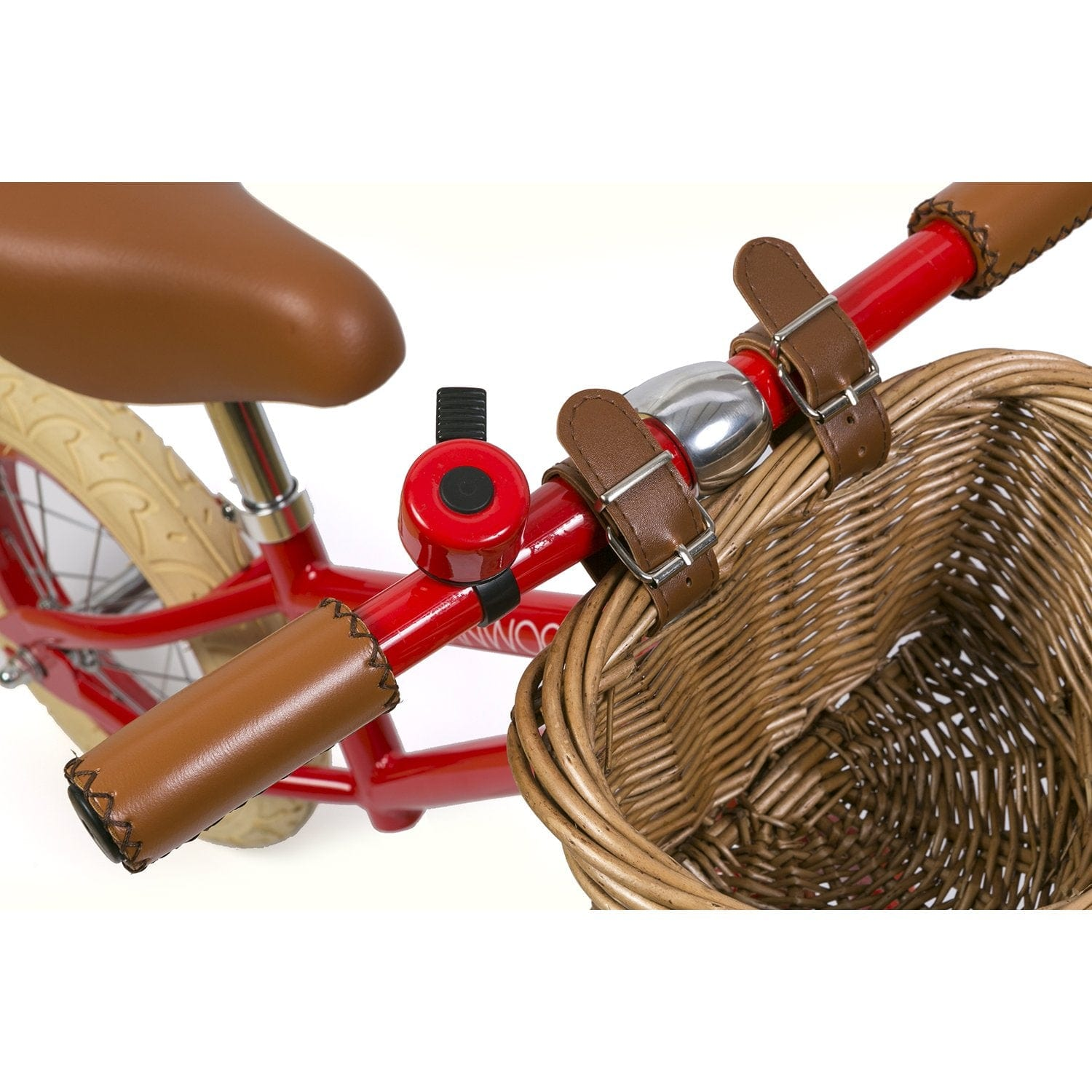 BANWOOD FIRST GO BALANCE BIKE, RED - Hello Little Birdie