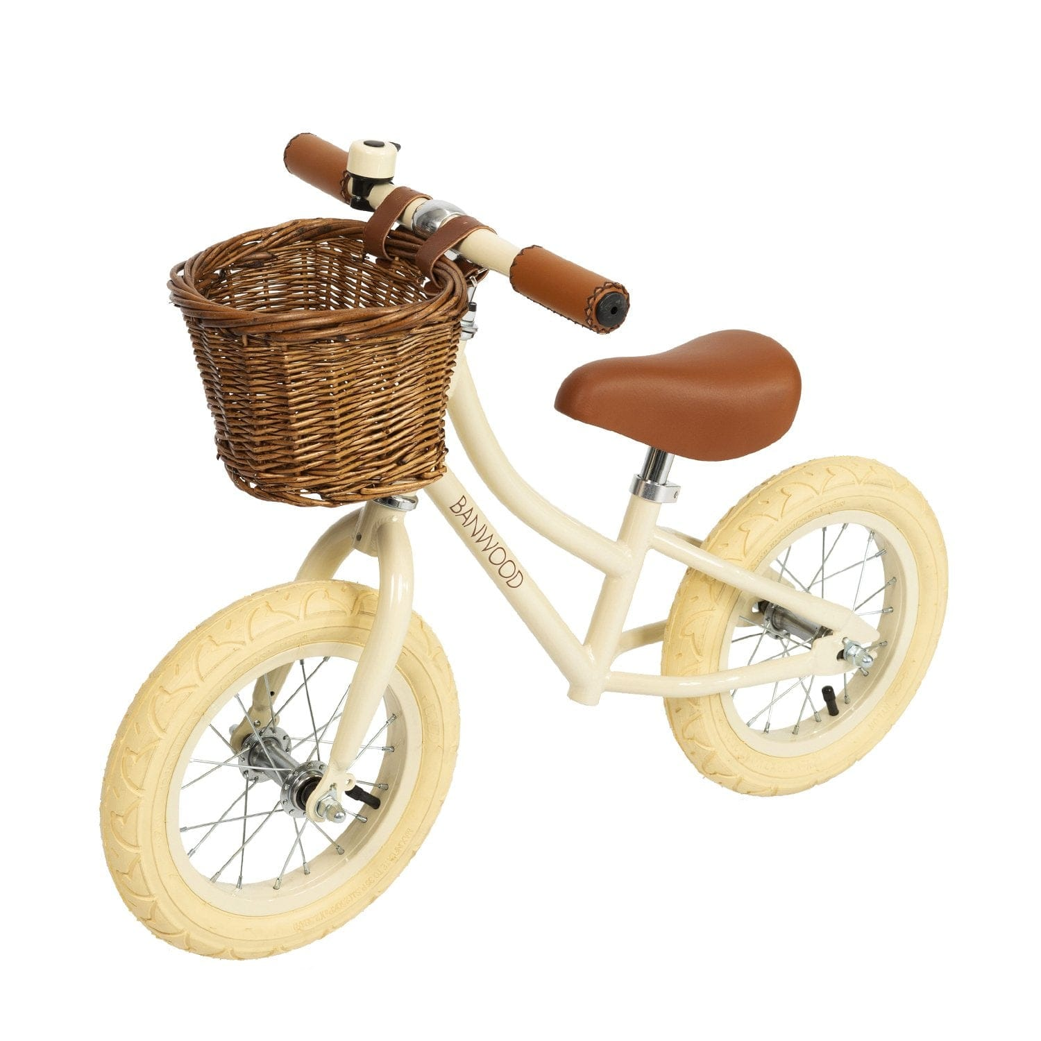BANWOOD FIRST GO BALANCE BIKE, CREAM - Hello Little Birdie