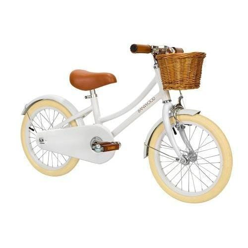 Banwood Classic Bike, White - Hello Little Birdie