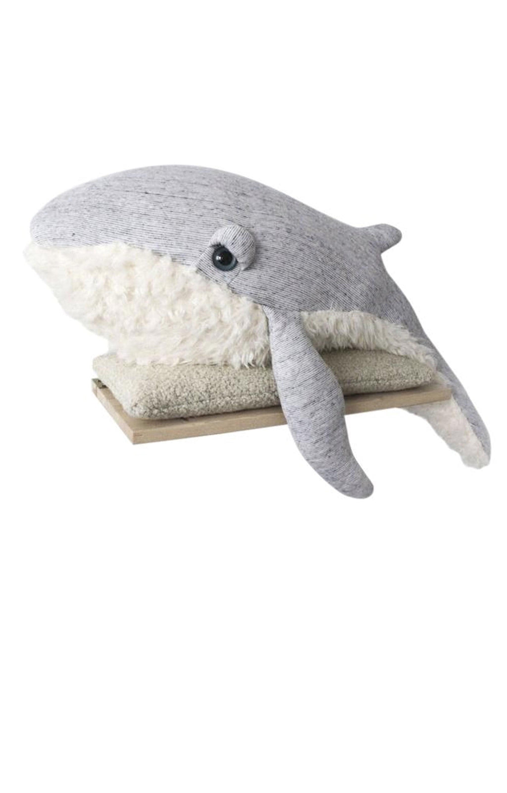 BigStuffed GrandPa Whale, Big (PRE-ORDER MARCH) - Hello Little Birdie