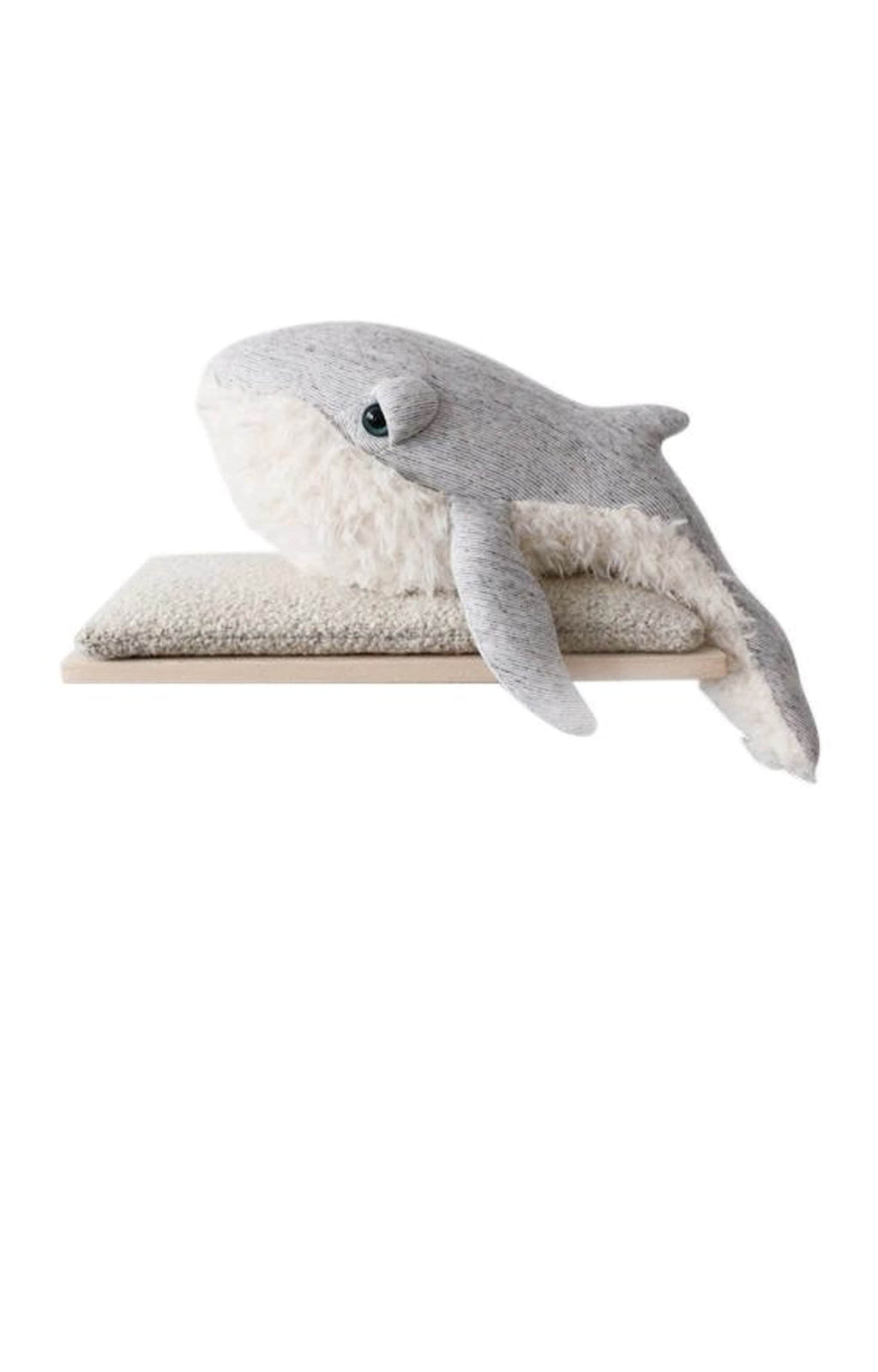BigStuffed GrandPa Whale, Small (PRE-ORDER MARCH) - Hello Little Birdie