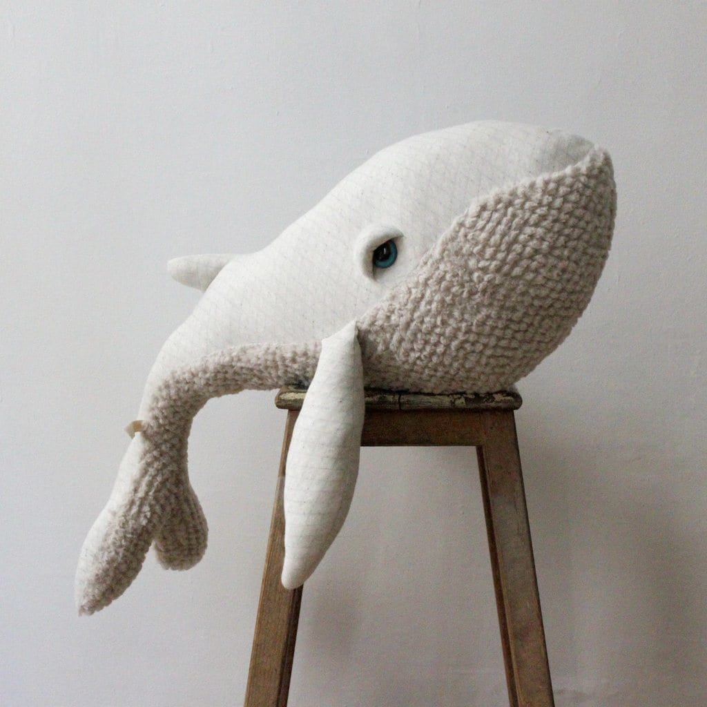 BigStuffed Albino Whale, Big (PRE-ORDER EARLY DEC) - Hello Little Birdie