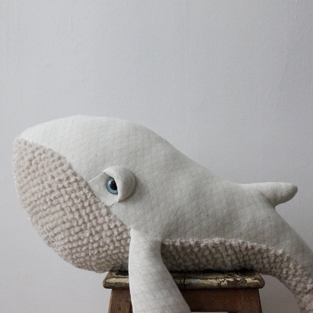 BigStuffed Albino Whale, Big (PRE-ORDER END FEB) - Hello Little Birdie