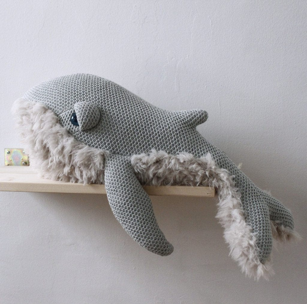 BigStuffed GrandMa Whale, Small (PRE-ORDER END MARCH) - Hello Little Birdie