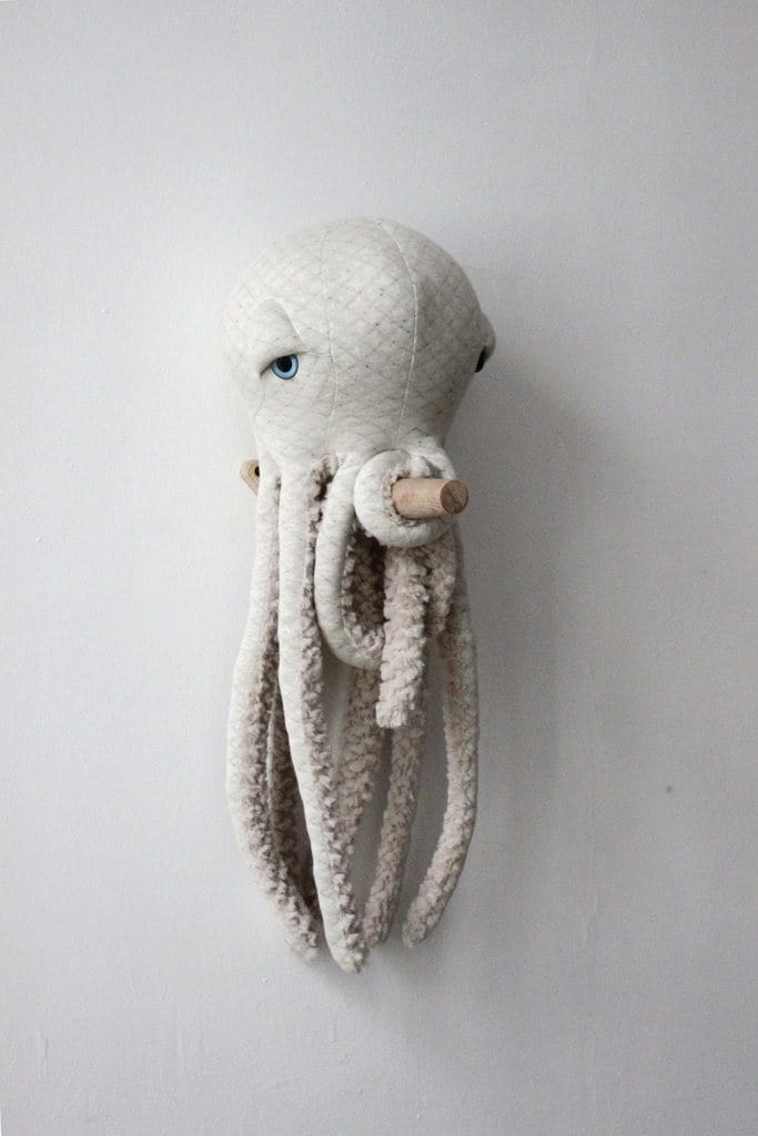 BigStuffed Albino Octopus, Small