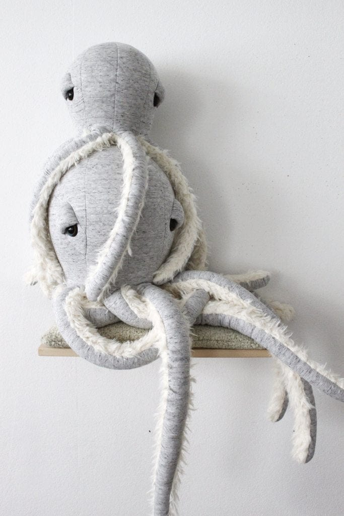 BigStuffed GrandPa Octopus, Small (PRE-ORDER END FEB) - Hello Little Birdie