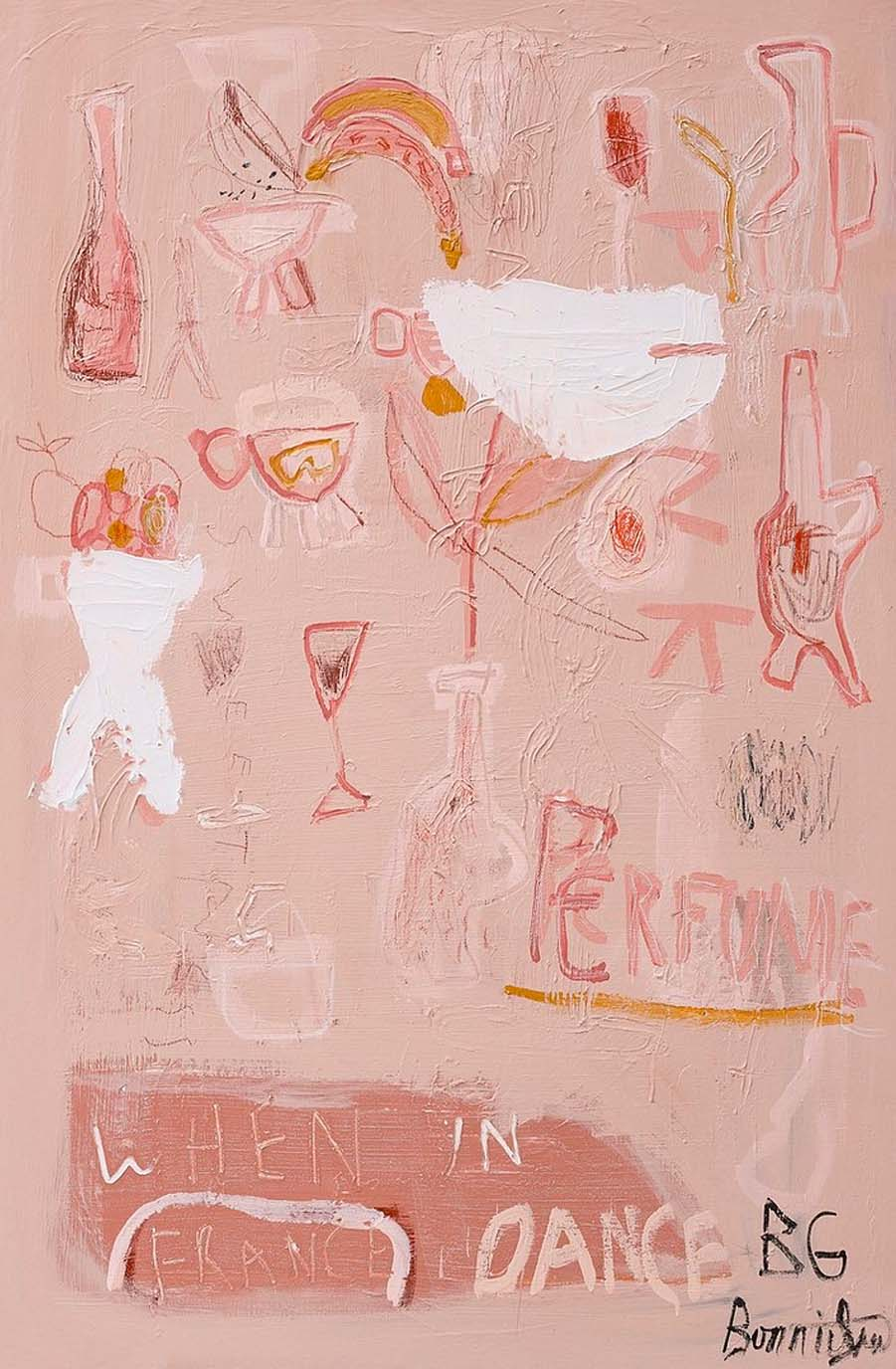 Bonnie Gray Limited Edition Fine Art Print, Pink Perfume - Hello Little Birdie