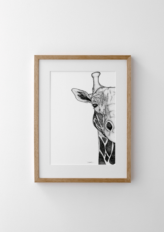 Dots By Donna, Georgi The Giraffe - Hello Little Birdie