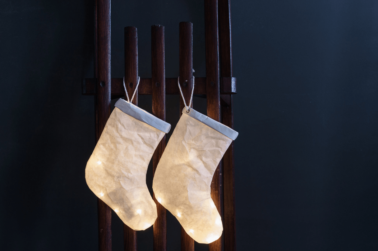 Ekaterina Galera, Christmas Stocking Light - Hello Little Birdie