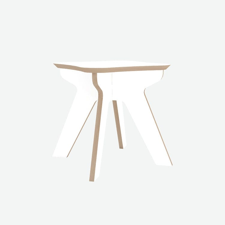 The Junior Stool - White - Hello Little Birdie