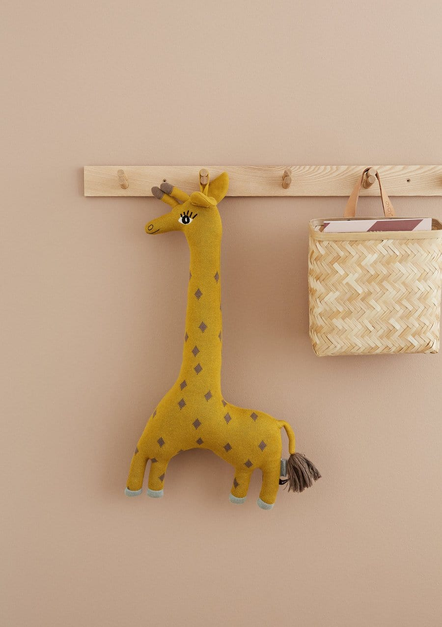 OYOY Noah Giraffe Cushion - Hello Little Birdie