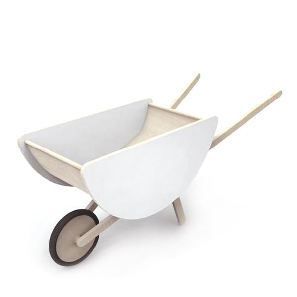 Ooh Noo Wheelbarrow, White