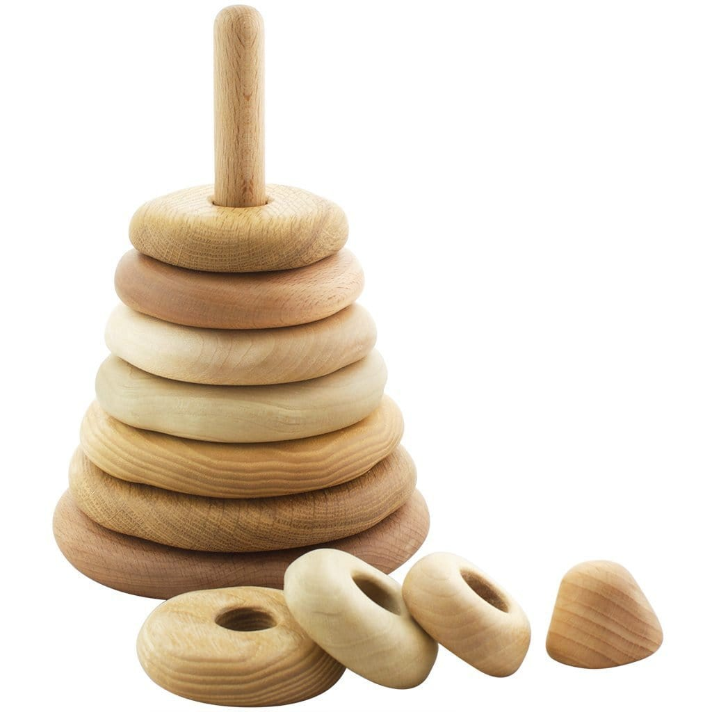 Tateplota Wooden Stacking Rings