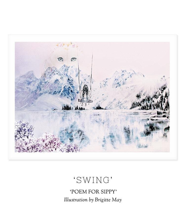 POEM FOR SIPPY - 'SWING' Print