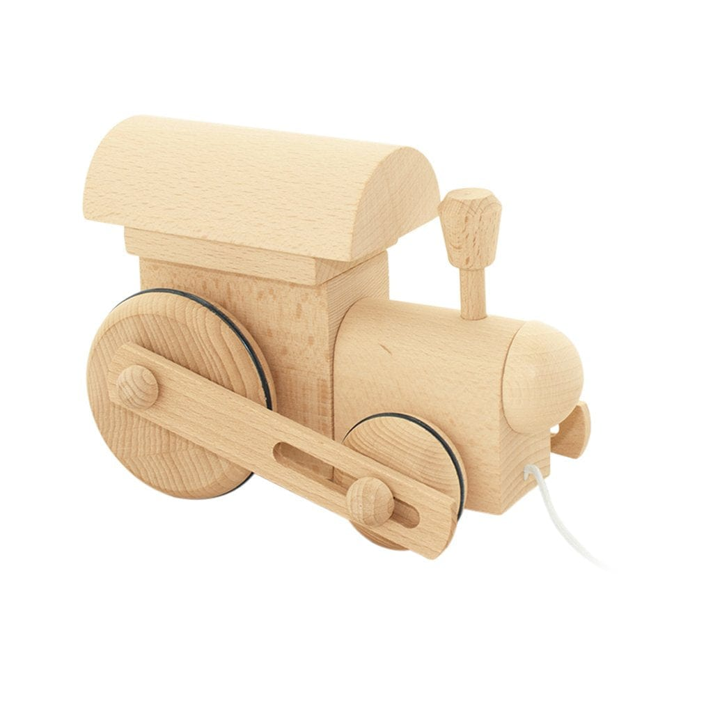 Miva Vacov Wooden Pull Along Train, Frederik