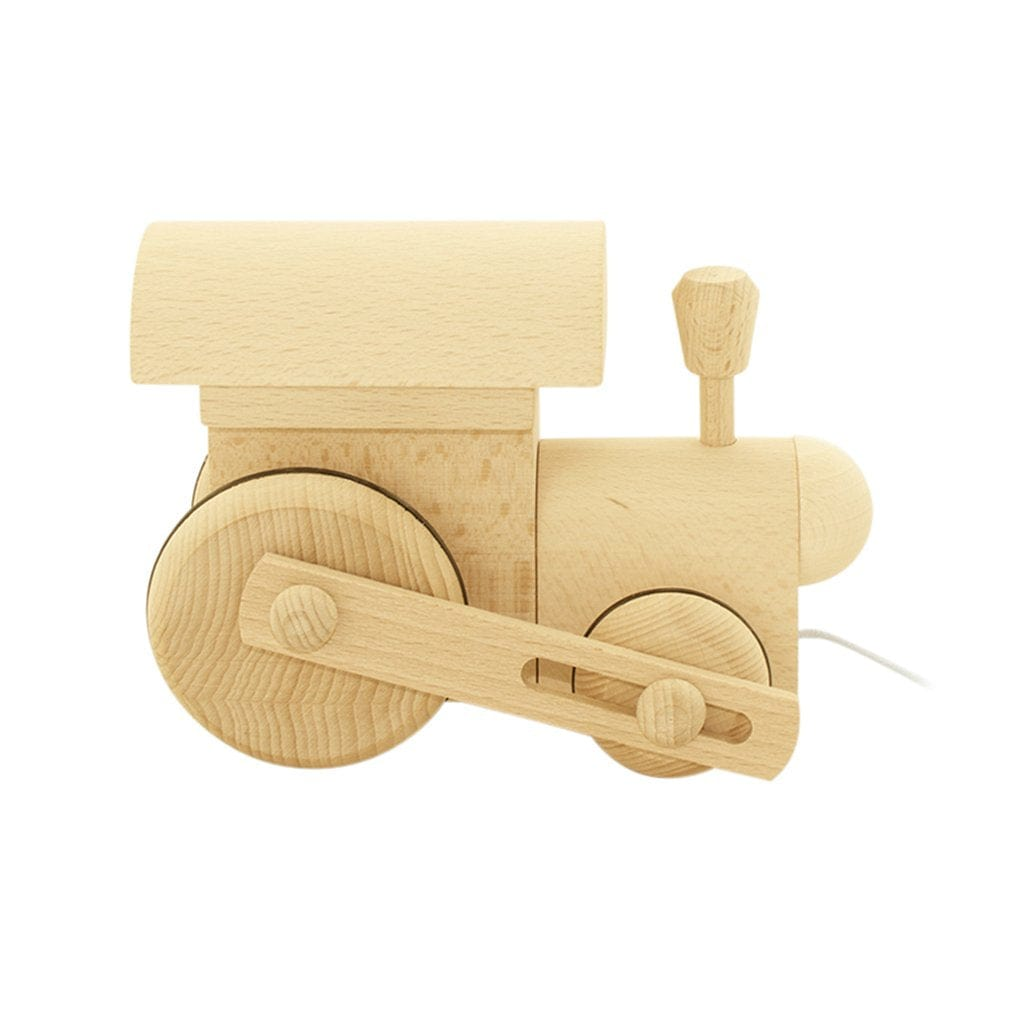 Miva Vacov Wooden Pull Along Train, Frederik - Hello Little Birdie