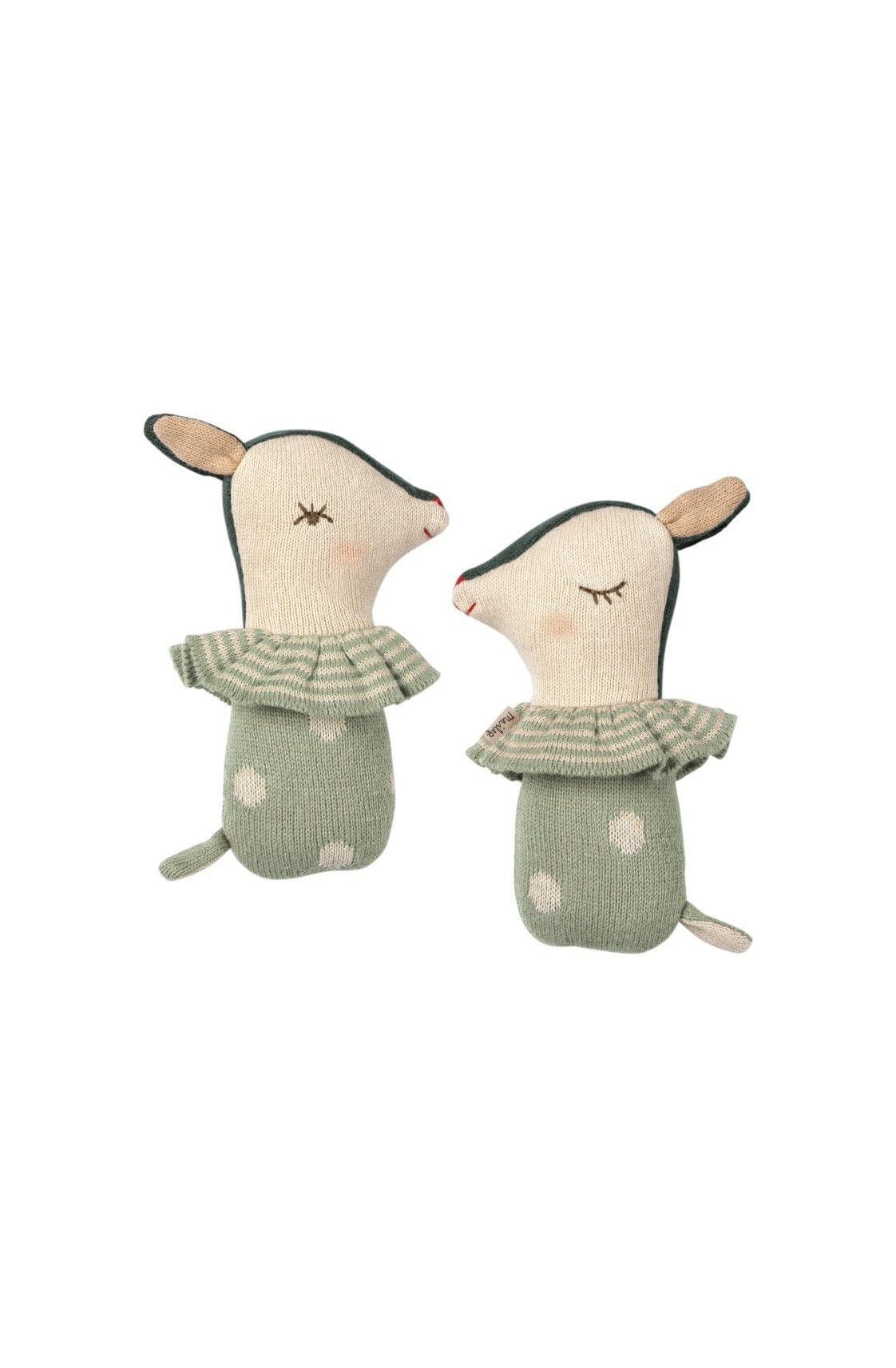 Maileg Bambi Rattle Dusty Mint - Hello Little Birdie