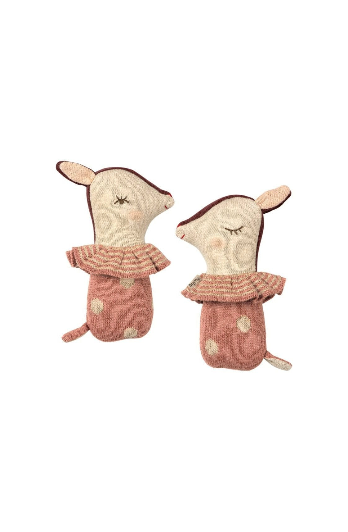 Maileg Bambi Rattle Dusty Rose
