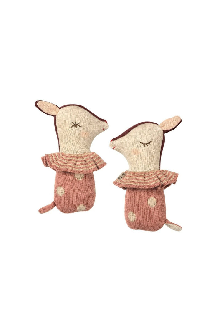 Maileg Bambi Rattle Dusty Rose - Hello Little Birdie